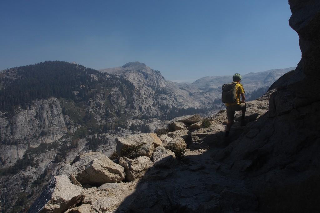 Über der Baumgrenze im Sequoia