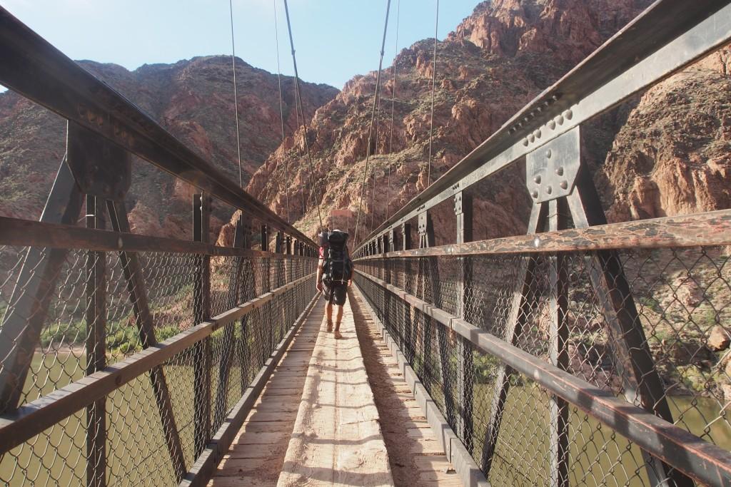 Beweisbild: Am Grunde des Grand Canyon