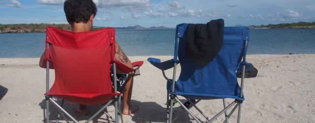 Camping mit Meerblick