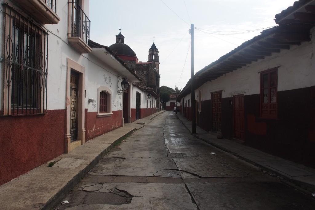 Ruhiges Eck in Patzcuaro, die Bilder Nachts sind leider nix geworden