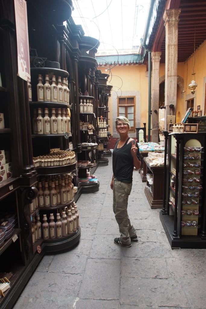 Das Museo del Dulce hat auch einen angeschlossenen Laden. Der ist die eigentliche Hauptattraktion.