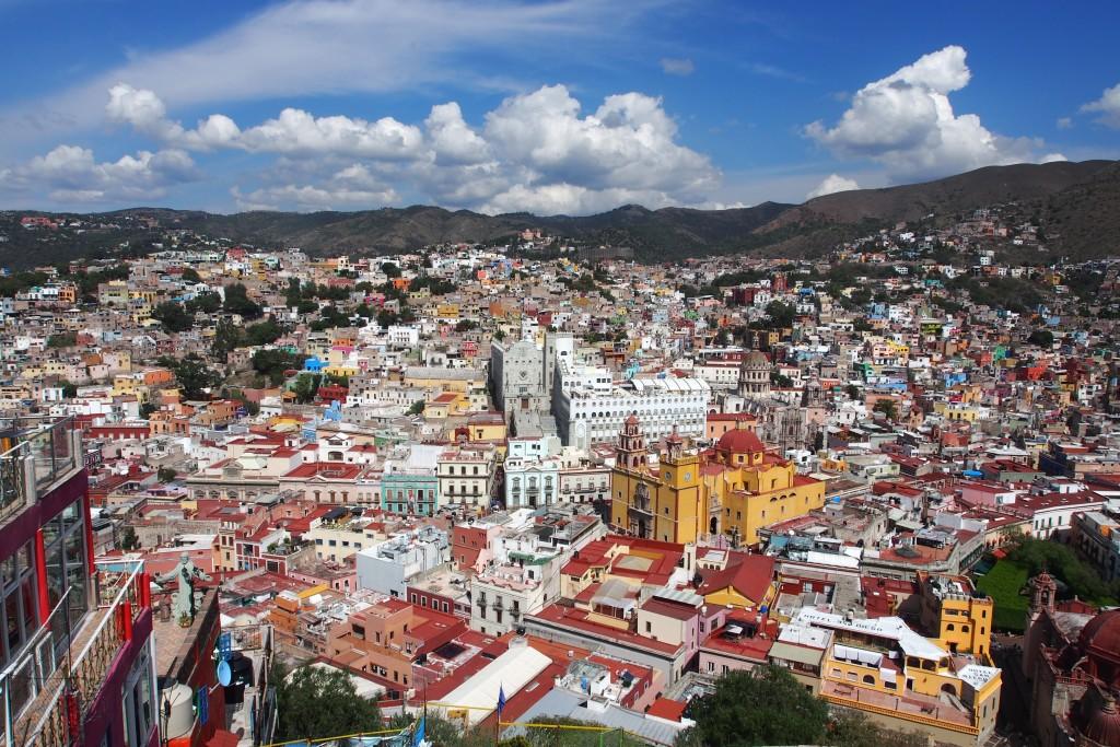 Guanajuato von oben