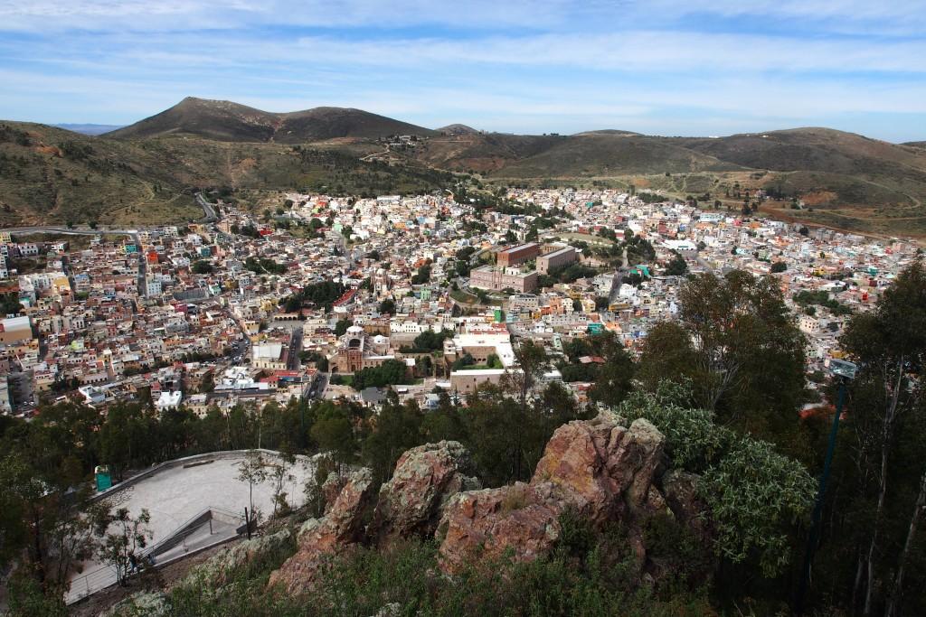 Unterhalb von Zacatecas: Silber