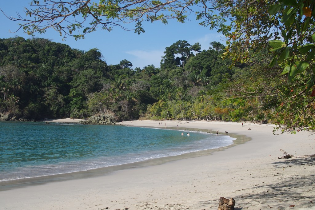 Traumstrand im Parque Nacional Manuel Antonio